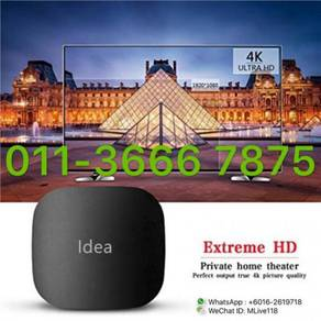 GREAT L1VETIME fulSTRO pro tv box u4k android new