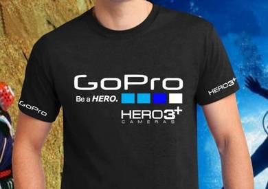 Tshirt Baju GoPro GP5 TSV Siap Pos Laju
