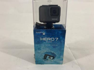 GoPro HERO7 Silver 10 MP Waterproof 4K Camera Cam