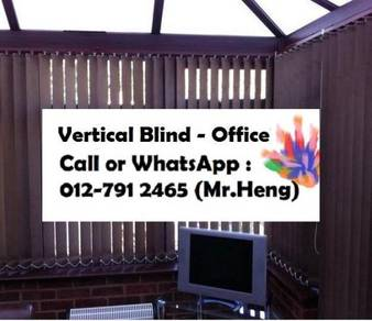 Easy Use Vertical Blind - with installation TA14