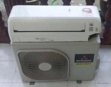 Mitsubishi 1hp heavy duty air cond secondhand