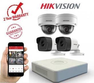 Complete Set  Pemasangan CCTV  Door Access Alarm3177
