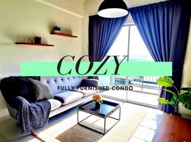 Completed Cozy Fully Furnished in Shah Alam DIAN V Residensi Damai