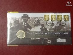 London 1908 Olympic Games FDC