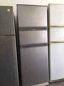 Fridge 3 doors Elba Peti Sejuk Ais Refrigerator