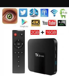 Sport game tv Box android tx3 mini 2g 16g