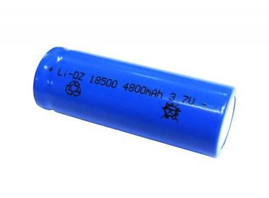 18500 4800mAh 3.7V Li-ion Rechargeable Lithium Bat