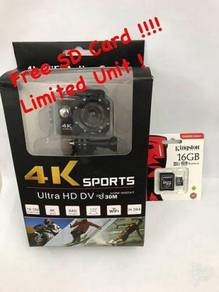 4k Action cam free 16 gb sdcard promo