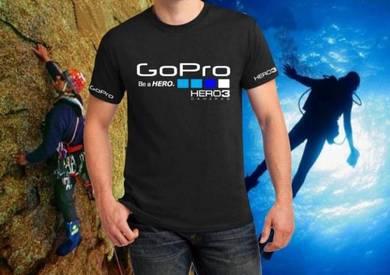 Tshirt Baju GoPro GP4 TSV Siap Pos Laju