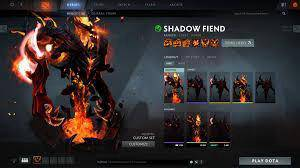 Arcana Shadow Fiend For Sell
