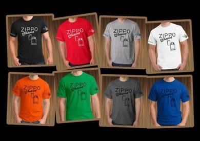 Tshirt Baju ZIPPO Z2 TSV Siap Pos Laju
