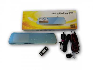 DVR Recorder Rakaman Pemanduan 2 Kamera