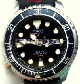 Jam Citizen Diver Promaster Japan left crown Watch