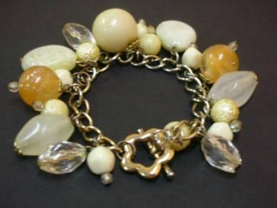 C055 Vintage beads bracelet