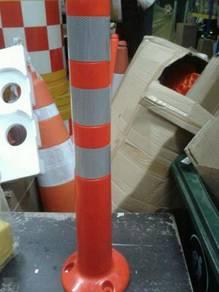 PVC flexible post elastic post 750 mm