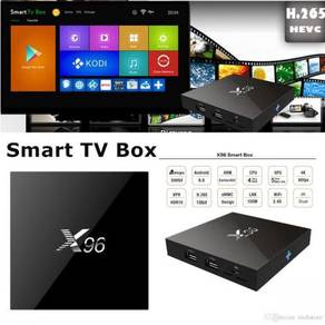 X96 stable 2g/16g Android uhd box tv turbo
