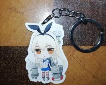 Xsaye's Shimakeze Acrylic Charm Keychain KanColle