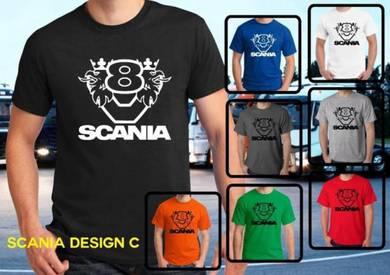 Tshirt Baju SCANIA S4 TSV Siap Pos Laju