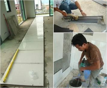 Memperbaiki rumah kawasan putrajaya