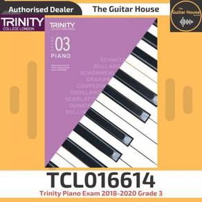 Trinity Piano Exam 2018-2020 Grade 3 TCL016614