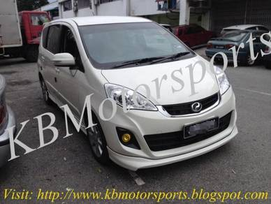 Perodua Alza SE Bodykit With Spray Color