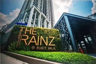 The Rainz, Bukit Jalil, Below Market 167k