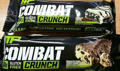 MP Combat Protein bars for gym & meal replacement
