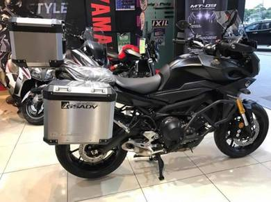 Yamaha MT-09 Tracer With Allumium Side Top Case