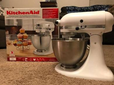 KitchenAid K45SSWH 275W Mixer