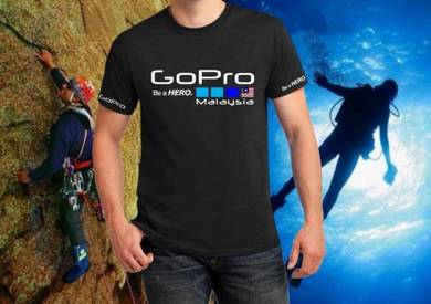 Tshirt Baju GoPro GP9 TSV Siap Pos Laju