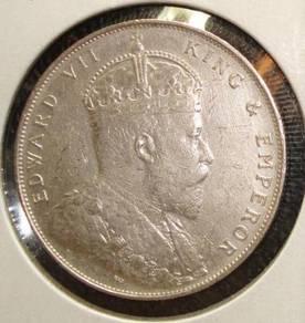 British Straits Settlements Malaysia one cent 1895