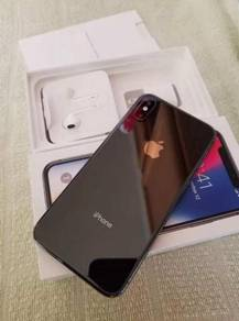 Ori iphone X 256gb, sealed in box my set unlocked]