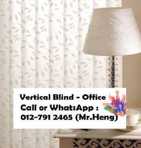 Modern Office Vertical Blind with Install PA99