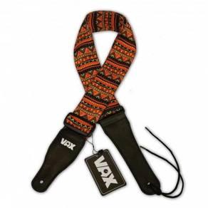 A-VAX MCOHT Poly-cotton Guitar Strap(Orange Batik)
