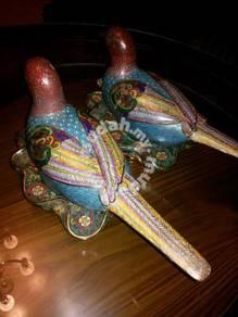 Mandarin Duck Cloisonn Jing Tai Lan
