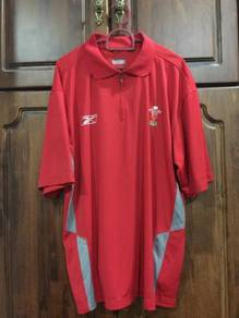 Reebook Wales rugby polo