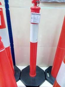 T top bollard traffic post 1100 mm 7 kg