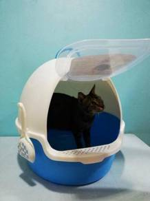 Turtle Cat Toilet Litter Tray Box 60cmx46cmx43cm