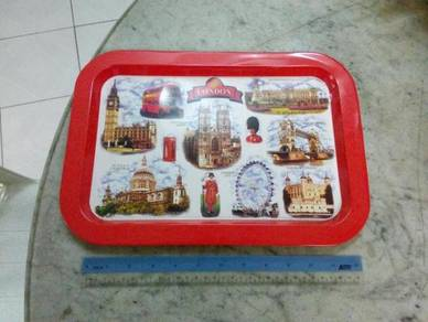 TExp London Scenery Tin Tray 12 Inches