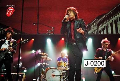 Poster the Rolling Stones J-0200