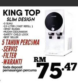 Viral Penapis Air Cuckoo Putrajaya