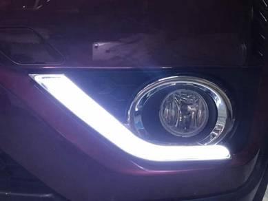 Honda brv oem front day light bar singnal BODYKIT