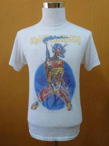 Rare vintage iron maiden local crew 1987