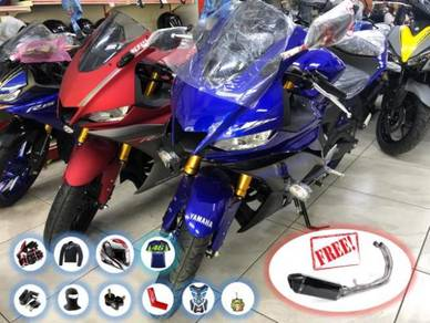 Yamaha YZF R25 R 25 -FREE Full System Exhaust