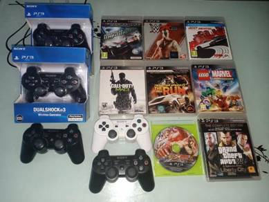 Cd games dan joystik ps3