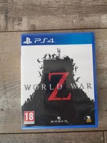 World war z ps4 game USA Version
