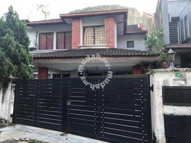 Taman Melawati 2sty Corner lot with big land for sale