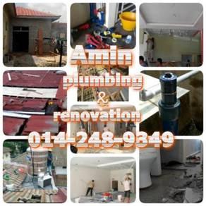 Kerja repair /rumah banting