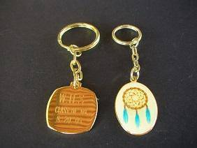 M010 Vintage Key Chain 2pcs set