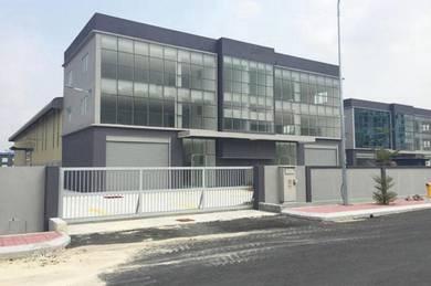 3 storey factory selayang industrail park kl